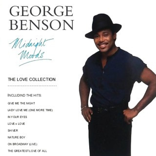 cd george benson - midnight moods - the love collection