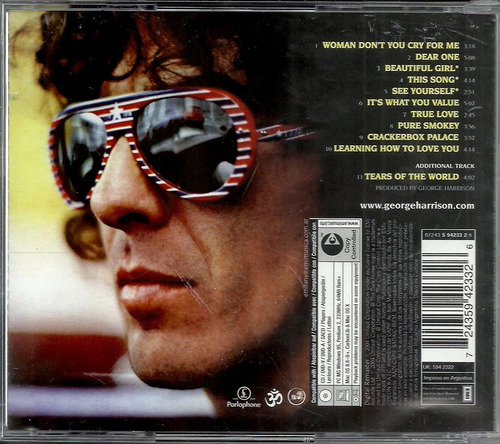 cd george harrison - thirty-three & 1/3 - 1976 - the beatles