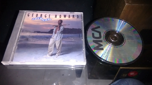cd george howard a nice place to be importado,en formato cd