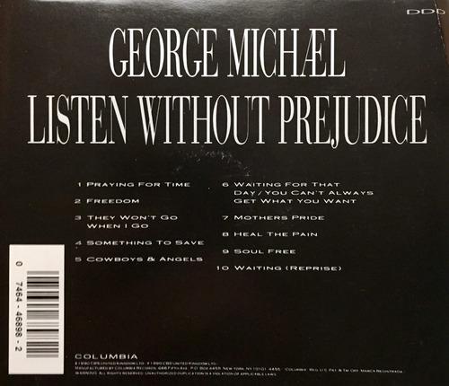 cd george michael listen without prejudice vol 1
