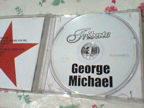 cd george michael  @  tribute  --2002--   (frete grátis)