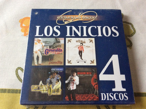 cd gerardo ortiz los inicios 4 discos