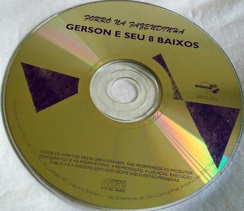cd gerson e seus 8 baixos (forró na fazendinha)