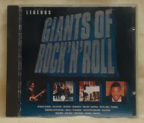 cd giants of rock'n'roll  / importado /  frete gratis b267