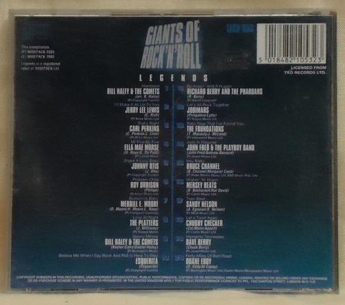 cd giants of rock'n'roll  / importado /  frete gratis b267