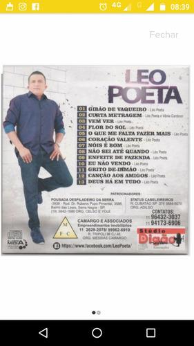 cd gibão de vaqueiro léo poeta2016