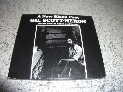 cd - gil scott heron a new black poet importado