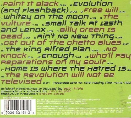 cd gil scott-heron - evolution ( flashback) the very best of