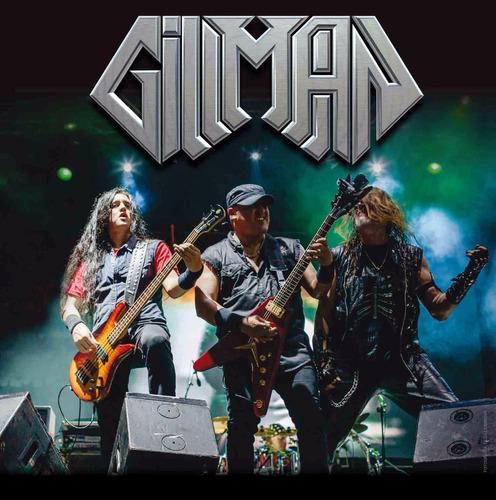 cd gillman - más vivo & en vivo - 2016