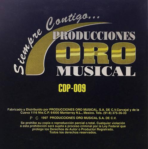 cd gina y banda sinaloense aramburos promo usado
