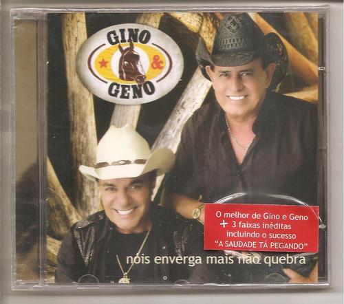 cd gino e geno - nos enverga mais nao quebra +bonus 3 faixas