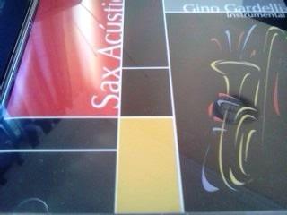cd gino gardelli sax acustico instrumental maxima music