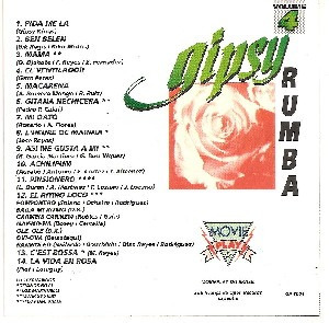 cd    gipsy  -  rumba - volume 4   - b173
