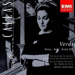 cd giuseppe verdi maria callas  arias iii