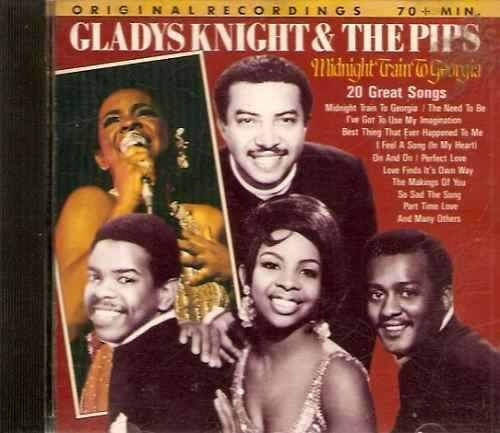 cd  -  gladys knight & the pipes  20 great songs - 343b227
