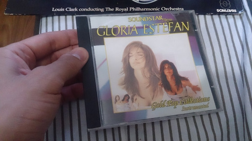 cd gloria estefan - gold pop collections instrumental