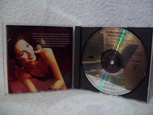 cd gloria estefan- greatest hits