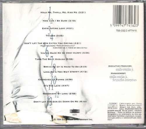 cd  gloria stefan hold me, thrill me, kiss me