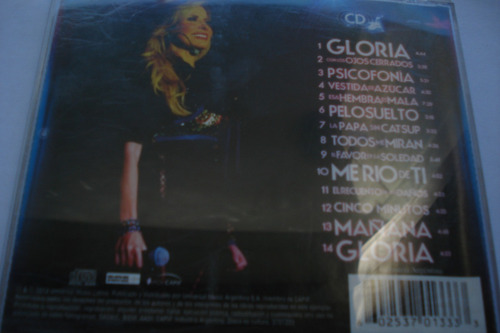 cd gloria trevi  en vivo