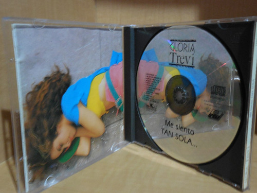 cd gloria trevi me siento tan sola