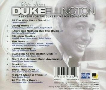 cd goin' home ellington tribute - george duke - usa