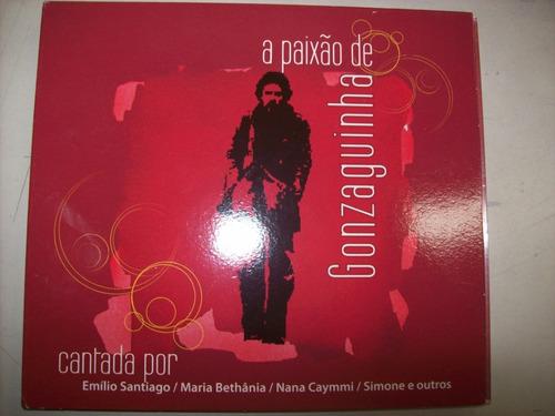 cd - gonzaguinha - a paixão de - nacional - usado