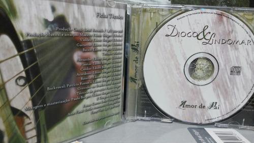 cd gospel de diogo & lindomar c/play-back em todas as faixas