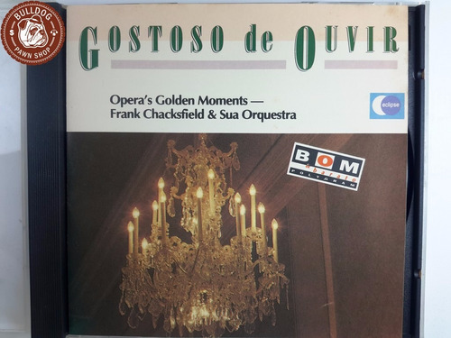 cd gostoso de ouvir opera's golden mome   - ganha caixa - b7