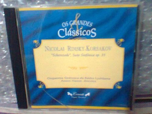 cd grandes clássicos @ nicolai rimsky-korsakov  frete grátis