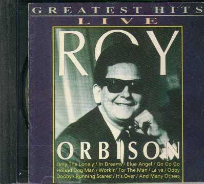 cd  greatest hit live   - roy orbison