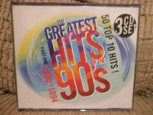 cd greatest hits of 90's vol 1 importado freddie mercury 3cd