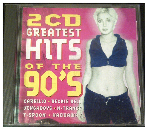 cd - greatest hits of the 90 - (2cds) - 1999 - original