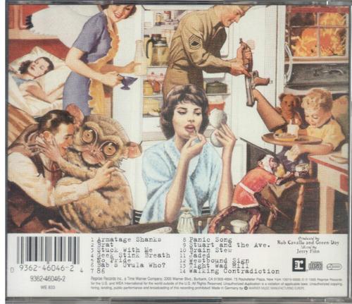 cd green day - insomniac (importado alemanha) original 1995