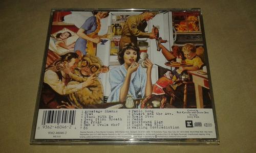 cd green day - insomniac, primera edición germany 1995 - new
