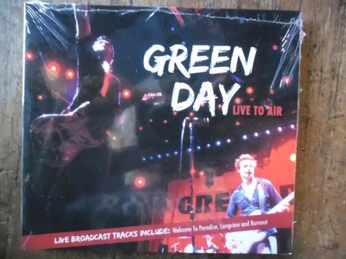cd  green day - live to air - novo e lacrado -  313b307