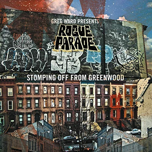 cd : greg presents rogue parade ward - stomping off from...