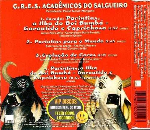 cd - g.r.e.s.acadêmicos do salgueiro samba enredo 98