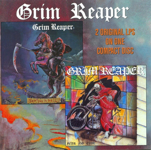 cd grim reaper see you in hell/fear no evil