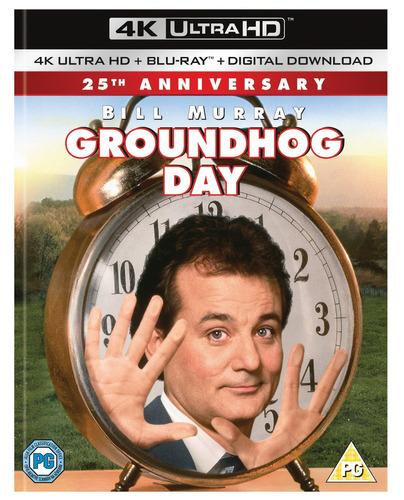 cd : groundhog day (with blu-ray, 4k mastering, digital...