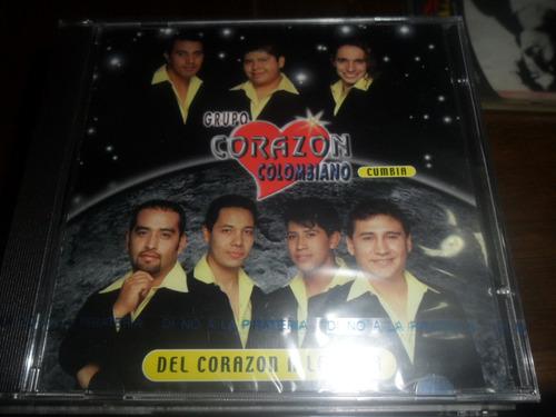 cd grupo corazon colombiano del corazon a la luna nuevo