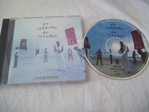 cd - grupo katinguelê - no compasso do criador - samba
