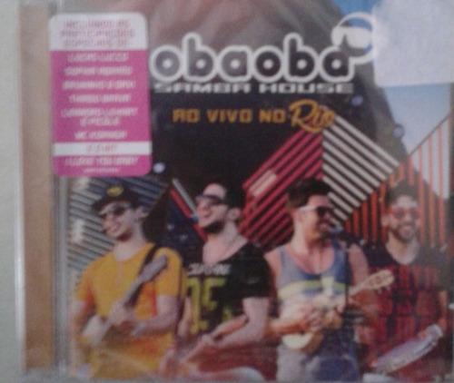 cd grupo oba oba - samba house ao vivo no rio