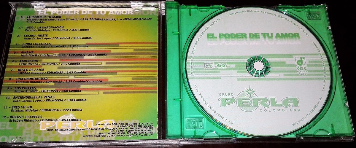 código promocional nueva llegada mejor precio Cd Grupo Perla Colombiana / El Poder De Tu Amor - $ 139.00