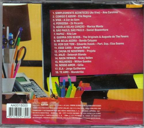 cd guerra dos sexos trilha sonora 2012  'original'