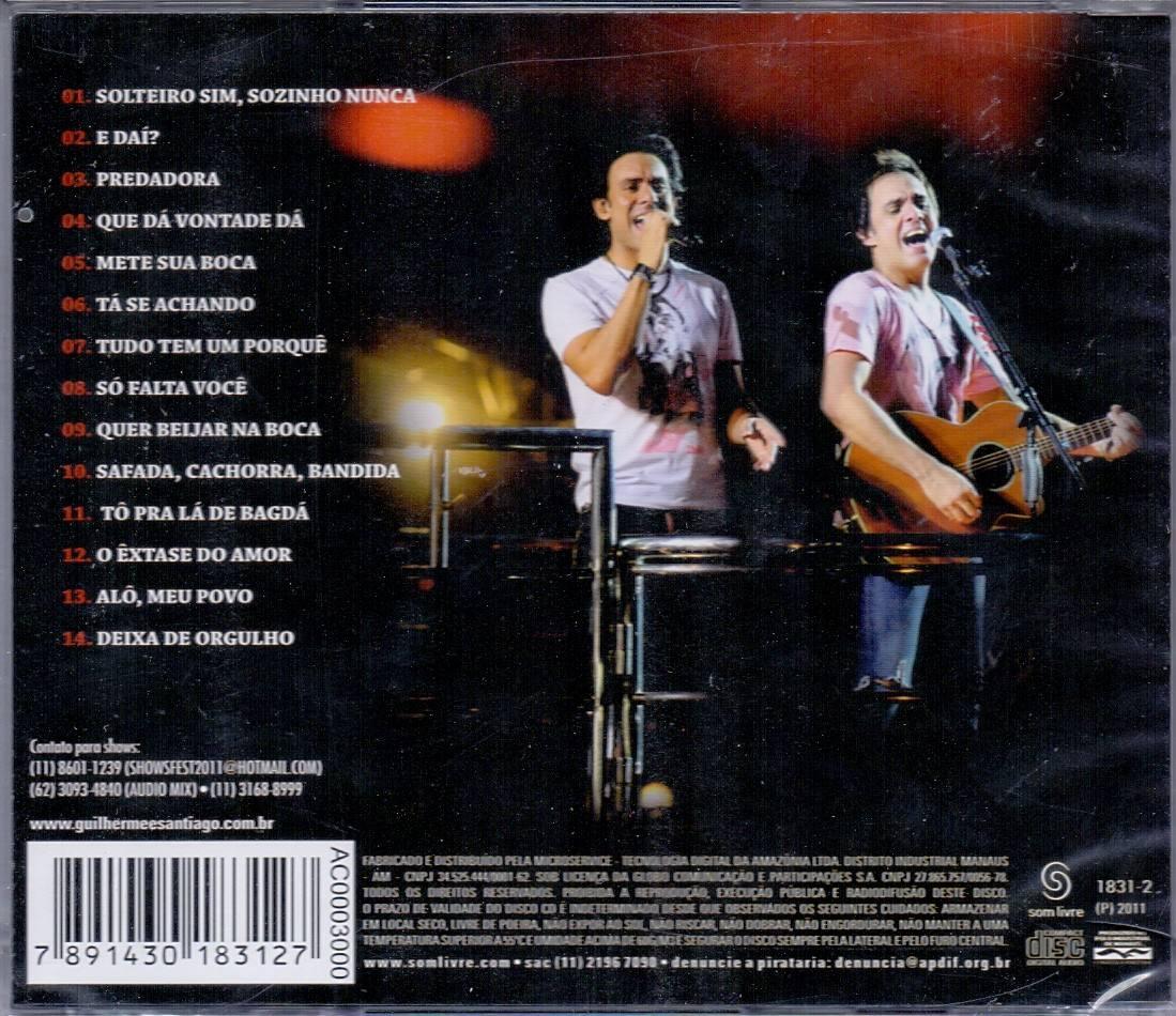 cd guilherme santiago 2011 trio eletrico