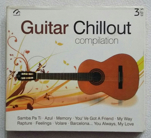 cd guitar chillout compilation
