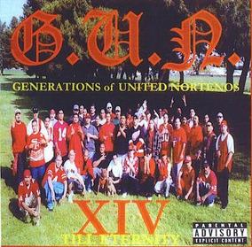 Cd G u n  - Gangsta Rap Chicano Norteno Compton Raro