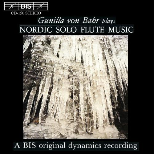 cd gunilla von bahr - nordic solo flute music
