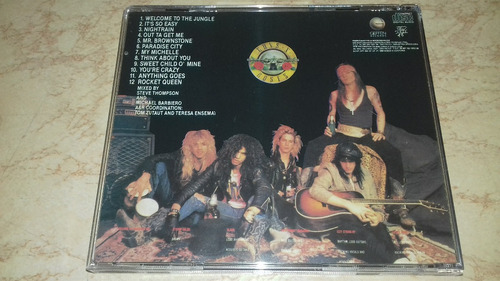 cd guns n' roses appetite for destruction