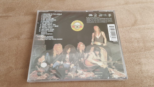 cd guns n roses appetite for destruction (lacrado fábrica)
